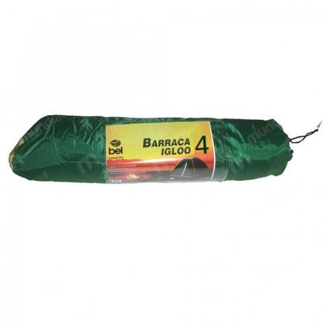 Imagem de Barraca Camping Igloo para 4 Pessoas com Bolsa para Transporte  Bel