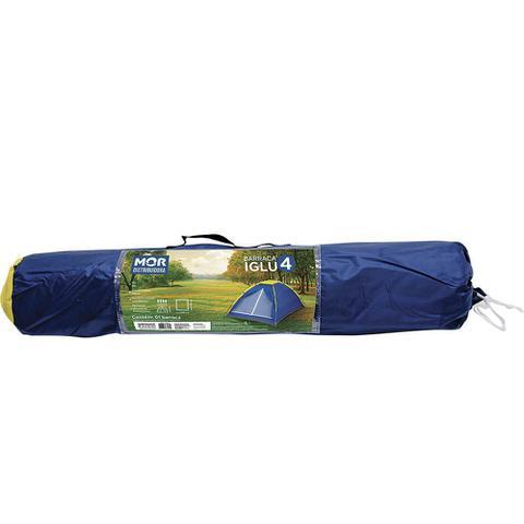 Imagem de Barraca camping iglu 4 pessoas azul mor
