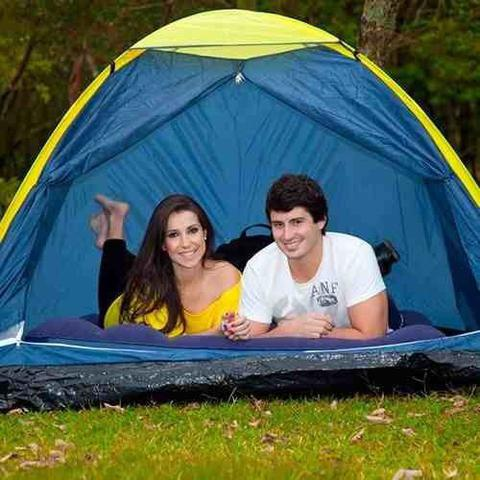 Imagem de Barraca Camping Impermeável Iglu 4 Pessoas