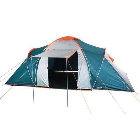 Imagem de Barraca de Camping Explorer 6 Pessoas Nautika + Impermeabilizante para Tecido de Barraca Coleman