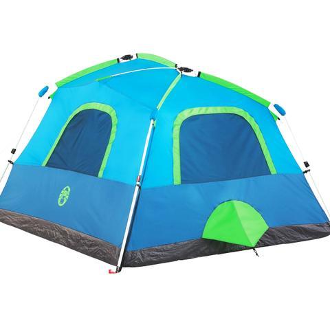 Imagem de Barraca de Camping Signal Mountain com Sistema WeatherTec Instant Cabin 4 Pessoas - Coleman