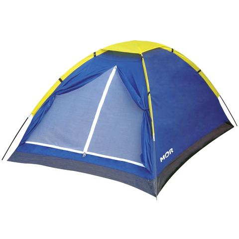 Imagem de Barraca de Camping Tipo Iglu para até 2 Pessoas - MOR Azul