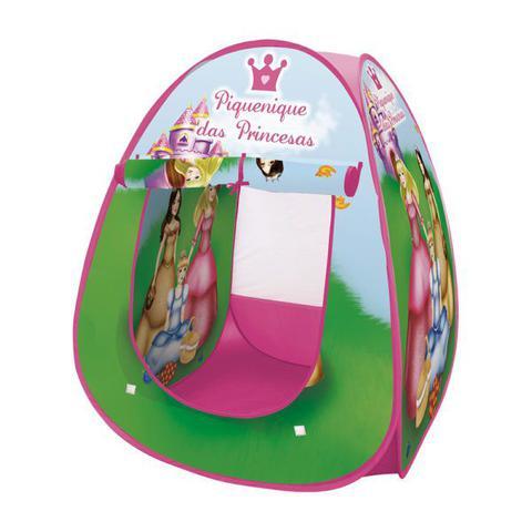 Imagem de Barraca Infantil Dobrável Piquenique das Princesas