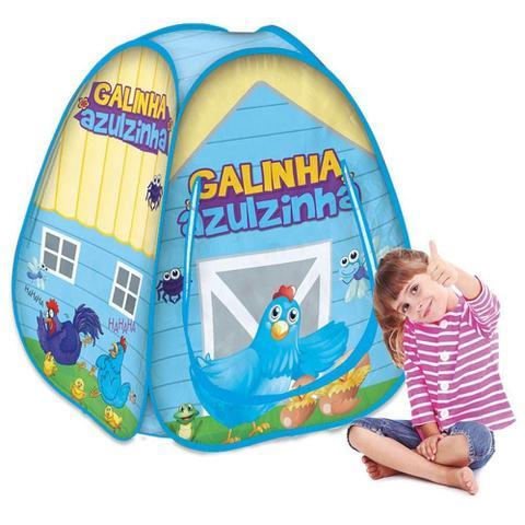 Imagem de Barraca infantil  Pop Up Galinha Azulzinha