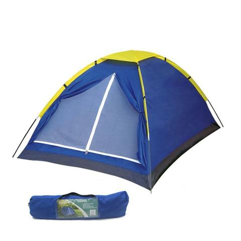 Imagem de Barraca para 4 pessoas com bolsa transporte acampamento tenda grande caming praia 200x200x130CM  - Tssaper - TB004