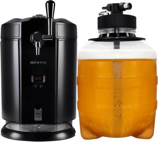 Imagem de Barril De Chopp 3,7 Litros Benmax Beer Me Back Maxicooler - Para Chopeiras Sistema Co2 De Extração