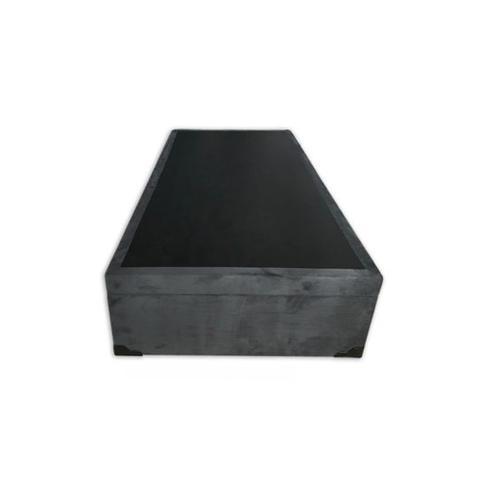 Imagem de Base Box Baú Solteiro SP Móveis Suede Cinza - 39x88x188