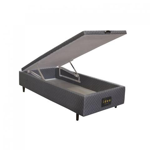 Imagem de Base Box Solteiro 46cmx88cmx188cm com Baú Idea Herval Black