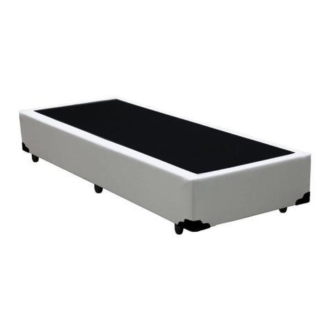 Imagem de Base Box Solteiro Belos Sonhos Sintético Branco 40x88x188