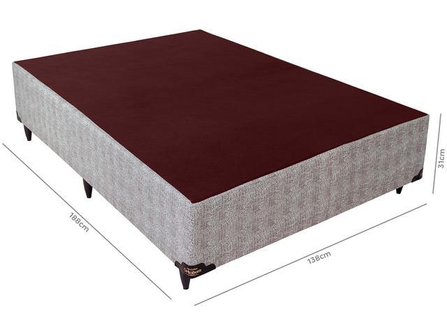 Imagem de Base Cama Box Casal Ortobom 31cm de Altura