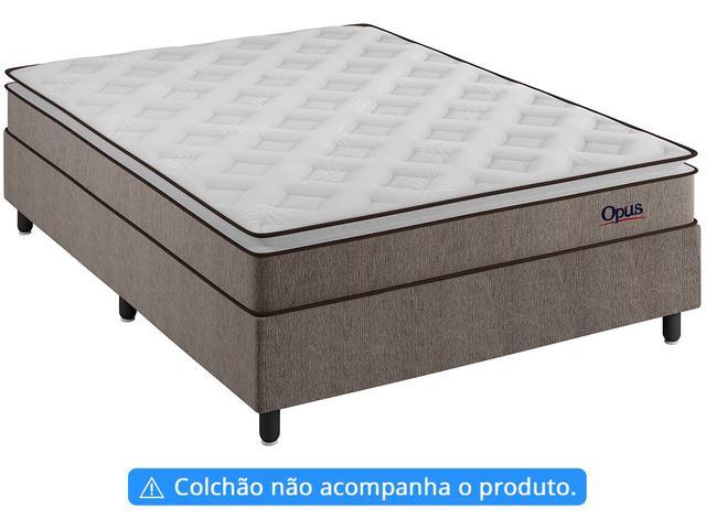 Imagem de Base Cama Box Casal Plumatex 37x138x188cm