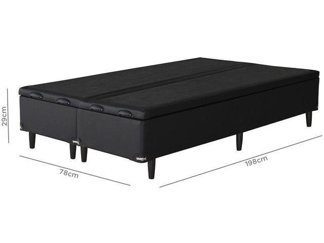 Imagem de Base Cama Box Queen Size Umaflex com Baú