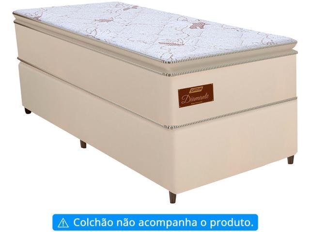 Imagem de Base Cama Box Solteiro Gazin 27x88x188cm