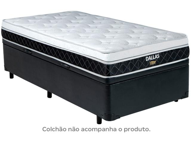 Imagem de Base Cama Box Solteiro V-Joy com Baú