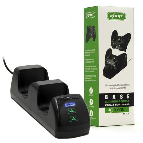 Imagem de Base carregadora dois controles xbox one com 2 baterias - Knup