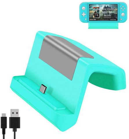 Imagem de Base Dock Carregador Stand Nintendo Switch Lite - Green