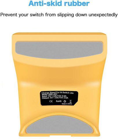 Imagem de Base Dock Carregador Stand Nintendo Switch Lite - Yellow
