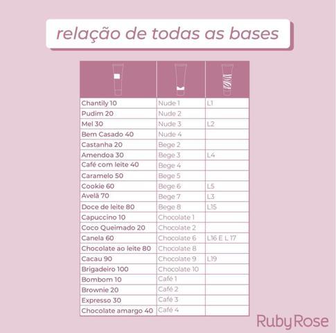 Imagem de Base Feels Capuccino 10 - Ruby Rose
