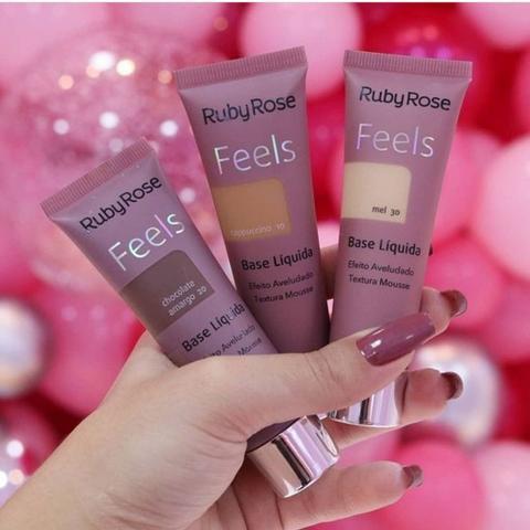 Imagem de Base Feels Cores grupo 1 - Ruby Rose Lançamento