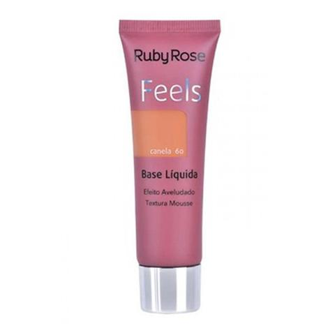 Imagem de Base Líquida Feels Ruby Rose Cor Canela 60