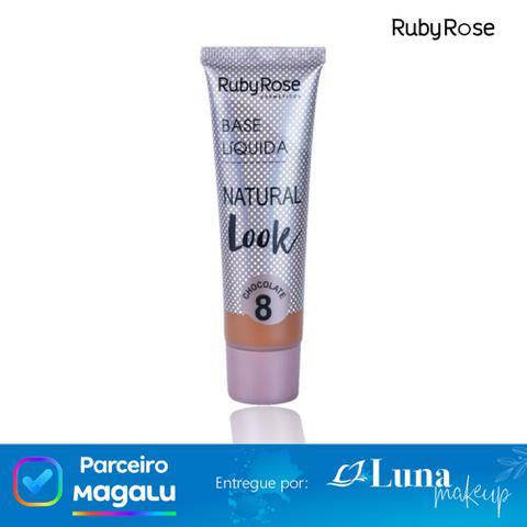 Imagem de Base líquida Natural Look Chocolate 8 - Ruby Rose