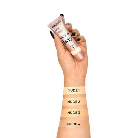 Imagem de Base Líquida Natural Look Nude Ruby Rose 29ml