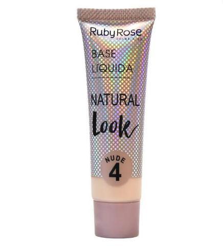 Imagem de Base liquida natural look  ruby rose  nude 4