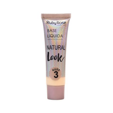 Imagem de Base Líquida Natural Look Ruby Rose - Nude