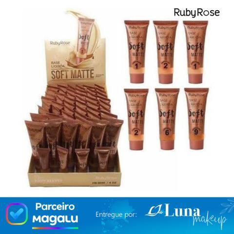 Imagem de Base Líquida Soft Matte Chocolate 2 -  Ruby Rose