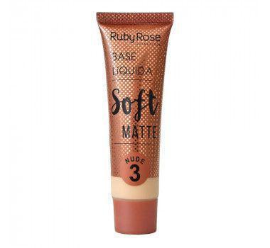 Imagem de Base Liquida Soft Matte Nude Ruby Rose