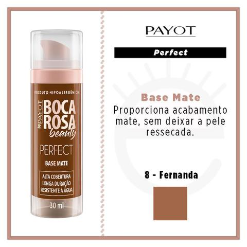 Imagem de Base Mate Perfect Payot Boca Rosa Beauty