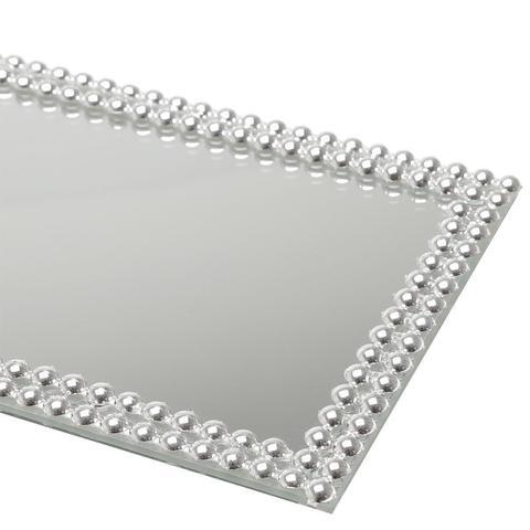 Imagem de Base, Suporte 32 cm com espelho e acrílico prateado Hills Prestige - 2997