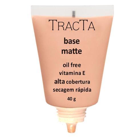 Imagem de Base Tracta Matte Oil Free Alta Cobertura Cor 04