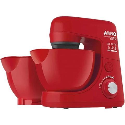 Imagem de Batedeira Planetária Arno New Deluxe 600W Vermelha 110V - SX32