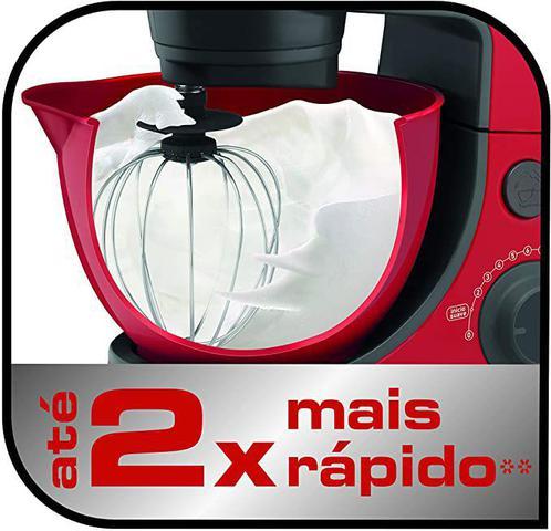 Imagem de Batedeira Planetária Daily Vermelha SX86 600W - 110v