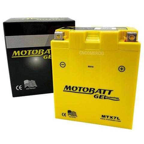Imagem de Bateria 100% Gel Motobatt Ytx7l-bs 7ah Dafra Speed 150 Riva 150
