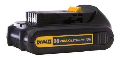 Imagem de Bateria 20v max compact 1,3 ah - dewalt dcb207-b3