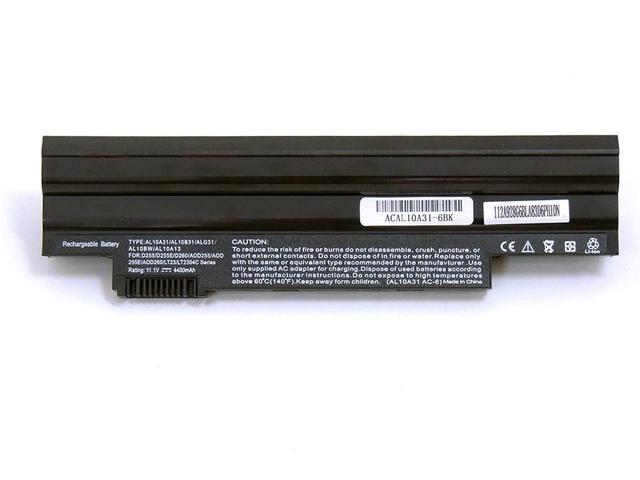 Imagem de Bateria - Acer Aspire One Ao722 - Preta