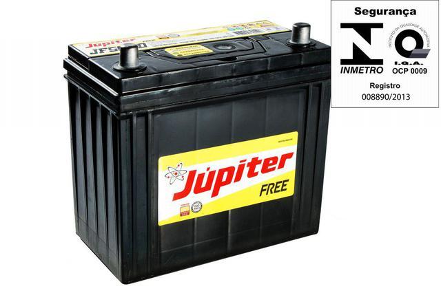 Imagem de Bateria Automotiva Selada Jupiter 50ah 12v Honda Civic Com Prata