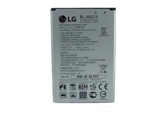 Imagem de Bateria Bl-46g1f LG K10 Novo M250 2800 Mah