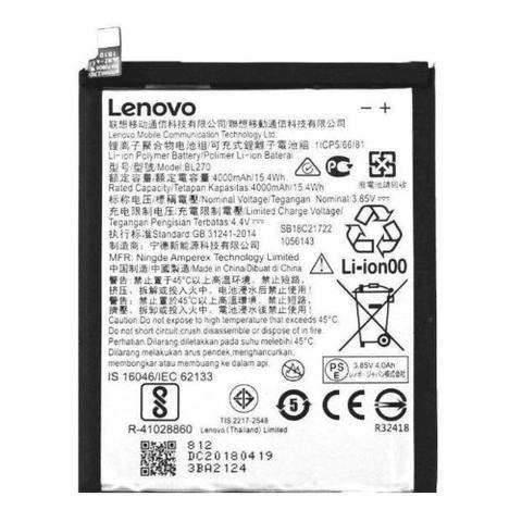 Imagem de Bateria Bl270 Moto G6 Play Xt1922 Motorola Lenovo Lacrada