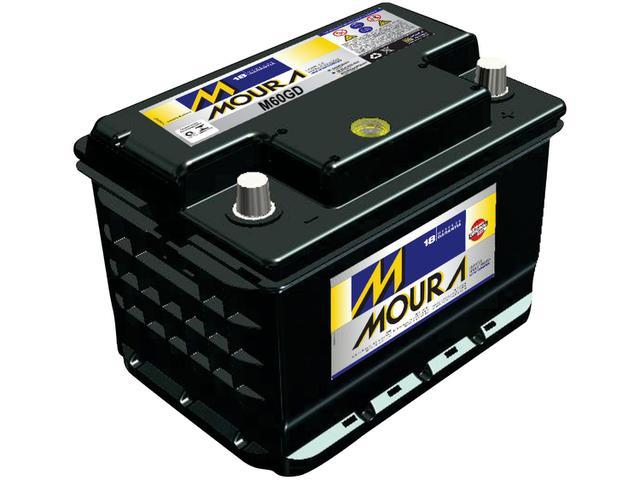 Imagem de Bateria de Carro Moura 60Ah 12V Polo Positivo