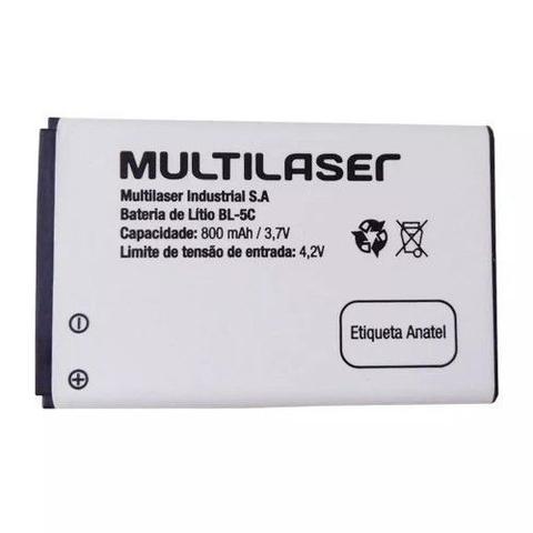 Imagem de Bateria de Lítio BL-5C 800mAh 3,7V BT003 - Multilaser