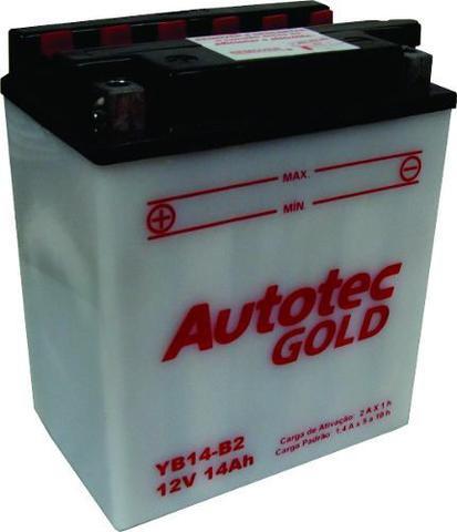 Imagem de Bateria de Moto Autotec Yb14-b2 14ah 12v