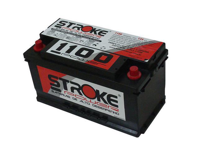 Imagem de Bateria de Som Stroke Power 125ah/hora e 1100ah/pico