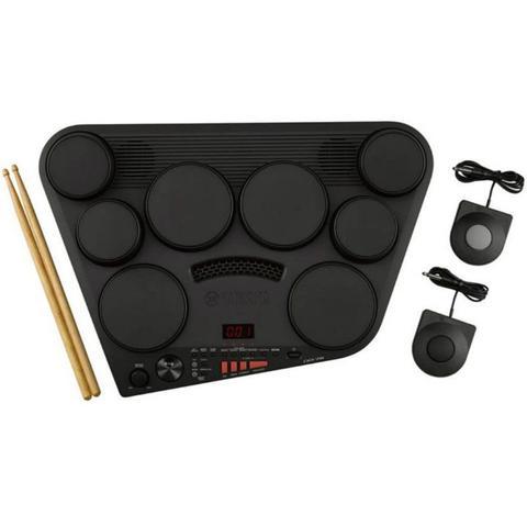 Imagem de Bateria Eletrônica Digital Yamaha DD-75 Compacta Bivolt Preta com Display de LED e 75 Presets de Bat