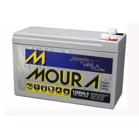 Imagem de Bateria Estacionária para Nobreak Moura 12MVA-9