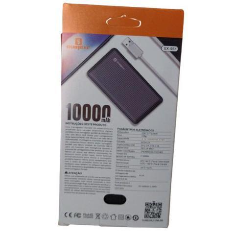 Imagem de Bateria Externa Portátil Power Bank Sumexr 10000mAh Para Celular i Phone 7, 7g, 7 Plus