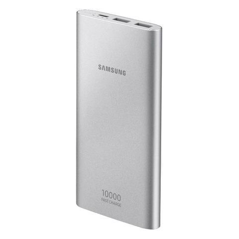 Imagem de Bateria Externa Samsung EB-P1100 P/ Carga Rápida USB Prata