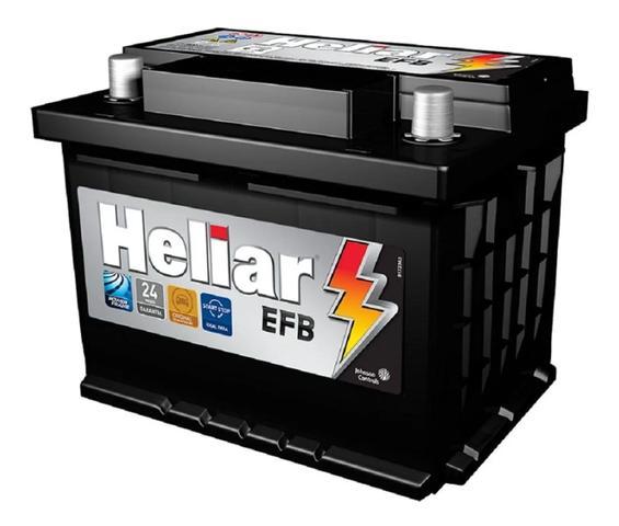 Imagem de Bateria Heliar Efb Carro Com Start Stop Hfb60hd 60ah Duste